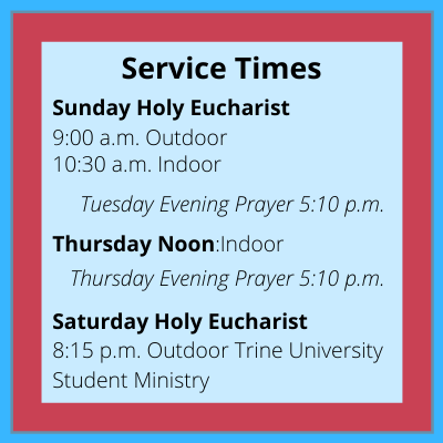 Times of Holy Eucharist